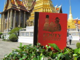 Forty Cartoon Books of Interest at the Grand Palace, Bangkok