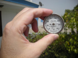 June 17th:  116F on our terrace