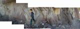 Rahil fossil hunting along Zanskar River
