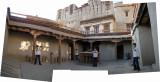 Rahil in LAMO courtyard