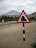 Mountain ahead!
