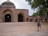 Humayan's Tomb's masjid
