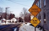 Blind Child (Hatfield, MA)