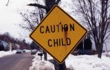 Caution Child
