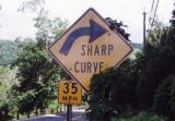 Sharp Curve (West Cornwall, CT)