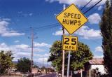 Speed Humps (Albuquerque, NM)