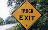 Truck Exit (Cameron, NY)