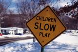 Children Slow Play