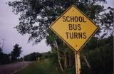 School Bus Turns (Townsend NY)