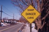 Sharp Danger Curve