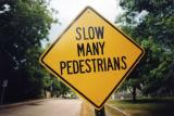 Slow Many Pedestrians (Barnstable MA)