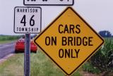 Cars on Bridge Only (Bellefontaine, OH)
