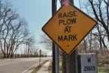 Raise Plow at Mark