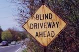 Blind Driveway Ahead (Agawam, MA)