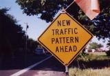 New Traffic Pattern Ahead (Lucketts, VA)