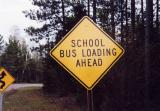 School Bus Loading Ahead