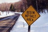 Begin No Salt Area (Montague, MA)