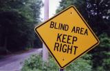 Blind Area Keep Right (Westhampton, MA)
