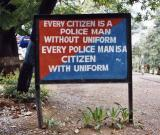 Every Citizen Is A Police Man . . . and vice versa (Dehra Dun)