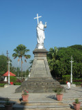 This time bypassing the statue, this one at Bishop's Residence
