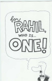 Brendan's birthday card for Rahil (cover)