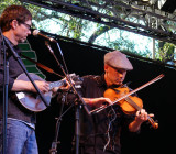 Stuart Mason picks, John Weed fiddles