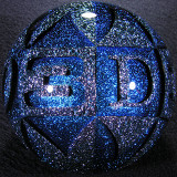 (7):  Letter D Artist: Hot House Glass  3-D Size: 2.90