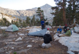 Camp at Little Five Lakes