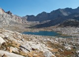 Nine Lake Basin from Kaweah Gap