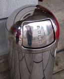 Waste bin portrait