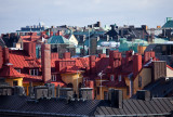 Colored roof tops