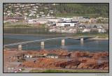 Moelven sawmill and Namsos bridge