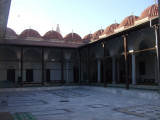 This is an open-air mosque, the first I've been in.  There is shade around the sides.