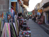 The bazaar in the old section of town.  Some of it's covered and some of it is open.  It's all fun!