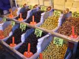 Olive store in the Izmir bazaar