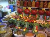 Pepper shop in the Izmir bazaar--talk about your specialty stores!