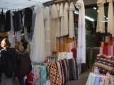 Dry goods in the Izmir bazaar.