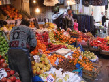 Fruit market in the bazaar