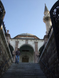 Mosque at the center of the bazaar