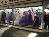 Clasina, I decided to wear the second dress from the left at your wedding--is it purple enough?