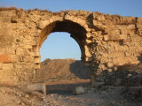 A gate to the ancient city.