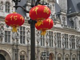 Hôtel de Ville at Chinese New Year