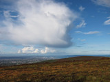Towards Dublin Bay from Tibradden