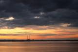 Dublin Bay sunset from Monkstown