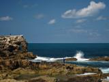 Cliffs north of Santander