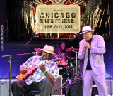 Magic Slim and Billy Branch 2011 Chicago Blues Festival