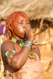 Blowing horn