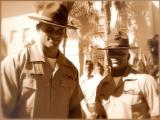 Drill Instructor Dorsey and Senior D.I. Bamba