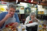Dave & Mom at Rustic Inn