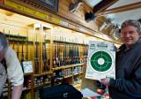 David's bullseye at Carter Country